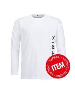 Matrix long sleeve shirt White
