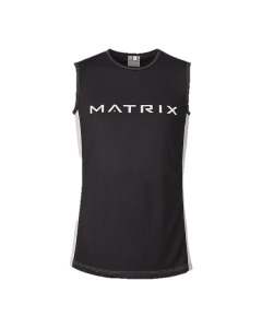 Matrix men's black tank top
