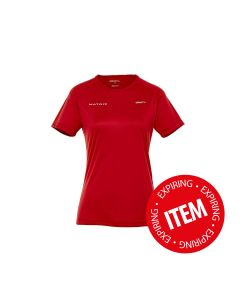 CRAFT women's performance shirt, red